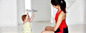 baby yoga lesson