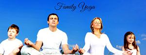family yoga banner