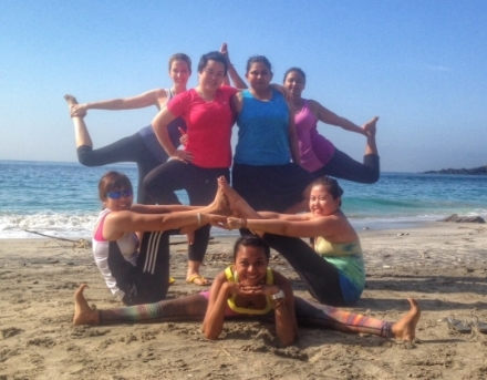 """Yoga with Rashita in Bali in May 2014 was absolutely brilliant – lovely locations, classes were the perfect length, excellent guidance from Rashita and a great group of fellow yogis!"" - Gopinath-Aney Pallavi"